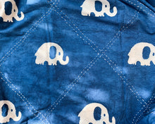 Load image into Gallery viewer, Kantha Quilt With Elephants