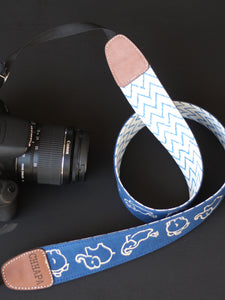 Camera Strap with Elephants