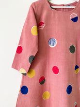 Load image into Gallery viewer, Peach Pink Candy 3/4Sleeve Dress
