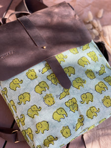 Canvas Elephant Backpack Bag