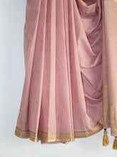 Load image into Gallery viewer, SAREE -Gold Foil Printed Fish Saree