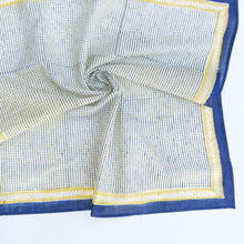Load image into Gallery viewer, Cotton Chex Square Scarf