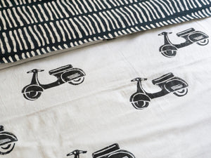 Quilt Covers with Scooters