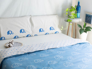Quilt Covers with Elephants