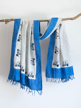 Load image into Gallery viewer, Khadi Scarf With Tuk Tuk