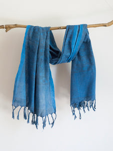 Khadi Scarf With Birdies