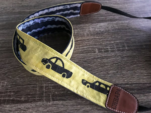 Camera Strap with Cars
