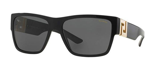 Versace Mens Sunglasses (VE4296) Black/Grey - Polarized - 59mm