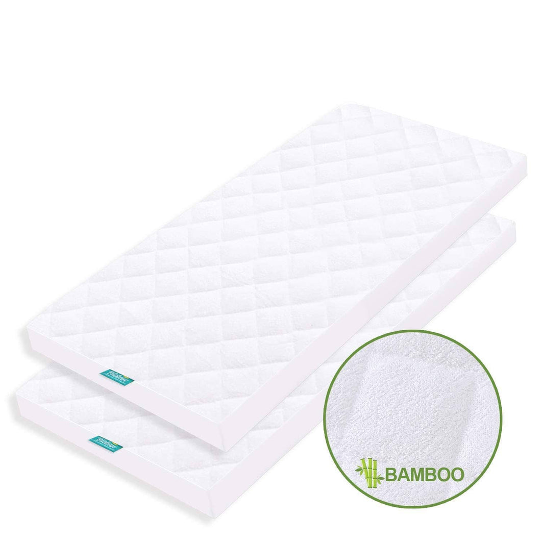 Biloban Waterproof Mattress Pad Cover - Ultra Soft Bamboo ( for 36