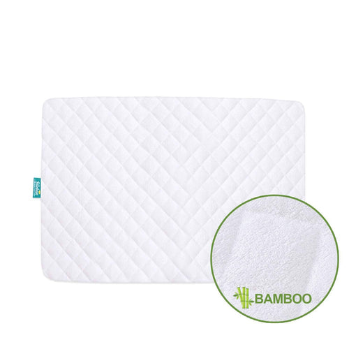 Biloban Waterproof Pack N Play Mattress Pad/ Protector - Premium Bamboo, Smooth & Soft - Biloban Online Store