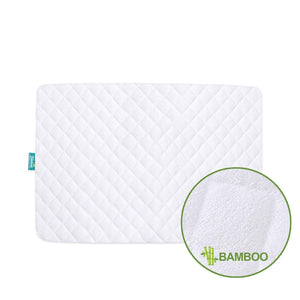Pack N Play Mattress Pad Cover - Premium Bamboo, Smooth & Soft - Biloban Online Store