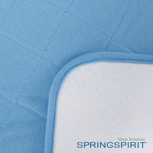 Waterproof Bed Mat with Non-Slip Back - Blue - Biloban Online Store