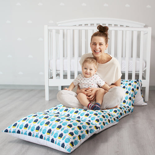 Kids Floor Pillow Lounger Cover, Cover Only, Non-Slip - Biloban Online Store