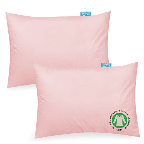 Toddler Pillowcase- 2 Pack, 100% Cotton, 12