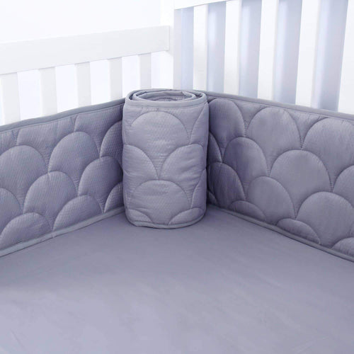 Crib Bumper Pads - 3D Weave Print, Fit for Standard Crib (52
