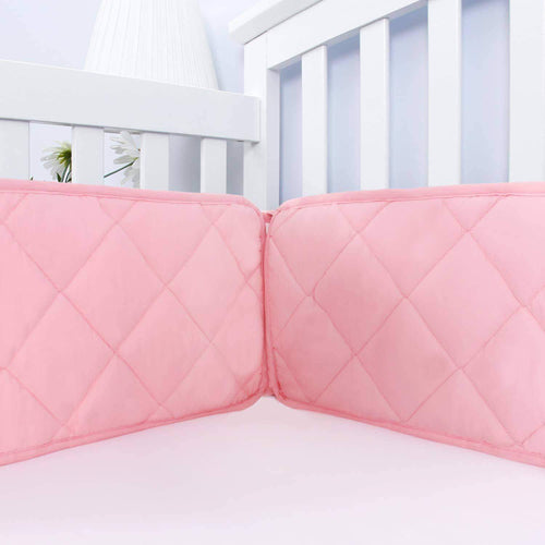 Crib Bumper Pads- Fit for Standard Size Crib (52