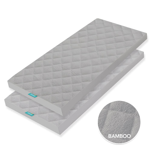 Bamboo Cradle Mattress Pad Cover for 36