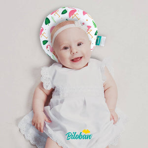 Biloban Baby Shaping Pillow For Newborn & Infant - Prevent Flat Head Anti Roll Neck Support