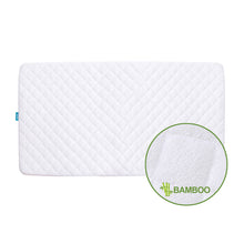 "Load image into Gallery viewer, Crib Mattress Protector - Bamboo (for Standard Crib 52"" × 28"") - Biloban Online Store"