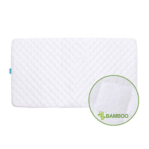 "Crib Mattress Protector - Bamboo (for Standard Crib 52"" × 28"") - Biloban Online Store"