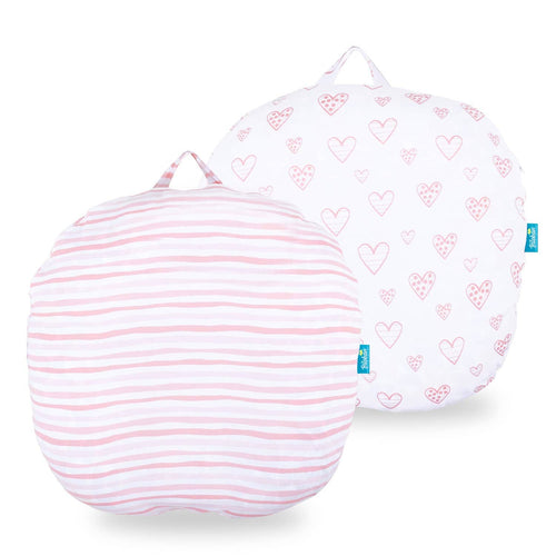 Biloban Newborn Lounger Pillow Cover - 2 Pack, 100% Jersey Knit Cotton - Biloban Online Store