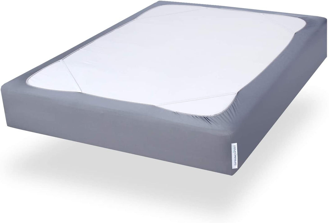 Twin Size Box Spring Cover with Smooth and Elastic Woven Material, Alternates for Bed Skirt, Washable, Dustproof - Biloban Online Store