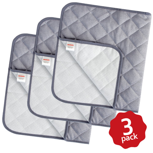 "Biloban Waterproof Changing Pad Liners Bamboo Quilted, 3 Pack Large Size 14""x 27"" - Biloban Online Store"