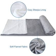 Load image into Gallery viewer, Waterproof Pet Blanket,30''x40'', Soft and Breathable Dog Blanket,Pet Bed Cover Fleece for Dogs,Cats,Car,Bed and Sofa - Biloban Online Store
