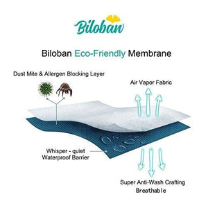 Bassinet Mattress Pads/Cover, Oval/Hourglass - 2 Pack, Microfiber - Biloban Online Store