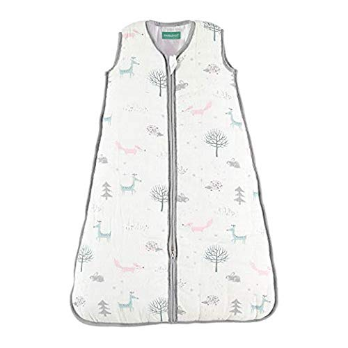 Biloban Cotton & Bamboo Sleeping Bag & Sleep Sack - Warm Muslin, Ideal for Winter, 2.5 TOG - Biloban Online Store