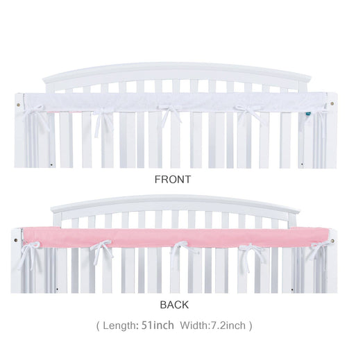 Crib Crib Rail Cover for Long Front Crib Rail - Single Pack - Biloban Online Store