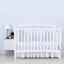 Load image into Gallery viewer, Crib Rail Cover for Long Front Crib Rail- 1 Pack, Reversible Use - Biloban Online Store