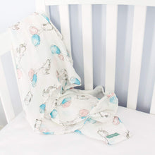 Load image into Gallery viewer, Baby Swaddle Blanket - Premium Muslin, Balloon - Biloban Online Store