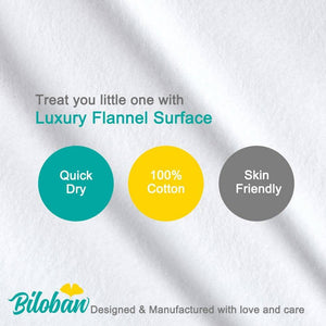 Biloban Waterproof Flannel Baby Changing Pad Liners - Biloban Online Store