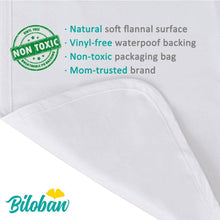 Load image into Gallery viewer, Biloban Waterproof Flannel Baby Changing Pad Liners - Biloban Online Store