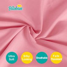 Load image into Gallery viewer, Biloban Pink Crib Skirt Pleated With White Lovely Pompoms, Dust Ruffle - Biloban Online Store
