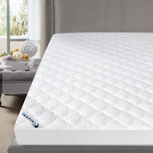 "Load image into Gallery viewer, Mattress Pad Thick Quilted Mattress Topper Cover, 14""-18"" Deep Pocket - Biloban Online Store"