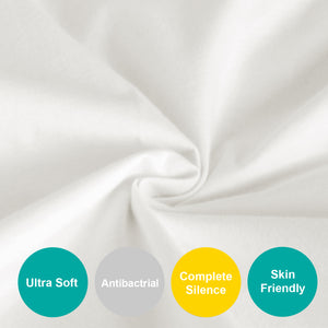 Changing Pad Cover - 2 Pack,Ultra Soft 100% Jersey Knit Cotton,Waterproof - Biloban Online Store