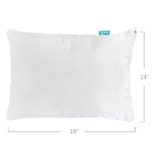 Load image into Gallery viewer, Toddler Pillowcase- 2 Pack, Waterproof, Bamboo Terry Surface, White - Biloban Online Store