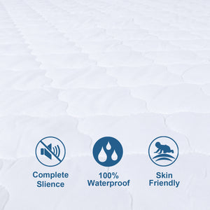 Waterproof Mattress Protector, Ultra Soft Microfiber Quilted - Biloban Online Store