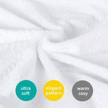 Load image into Gallery viewer, Baby Blanket - Warm Ultra Soft Short Plush Fabric, 3D Embossed - Biloban Online Store