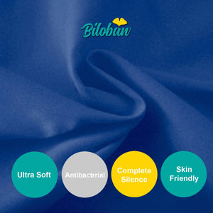 "Biloban Waterproof Pack N Play Fitted Sheet - 2 Pack, Ultra Soft Cotton, Navy Blue (for Square Playard 36""×36"") - Biloban Online Store"