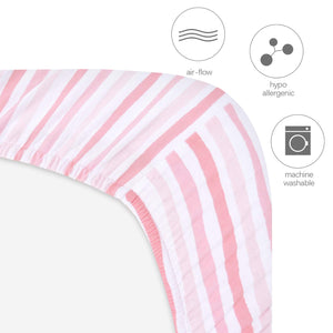 Biloban Bassinet Fitted Sheets for MiClassic (2 Pack), 100% Jersey Knit Cotton - Biloban Online Store