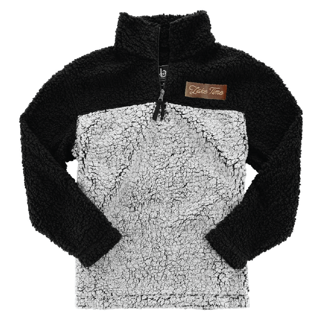 Unisex Sherpa Pullover - Ships in 2 weeks - Lake Time Supply Co.