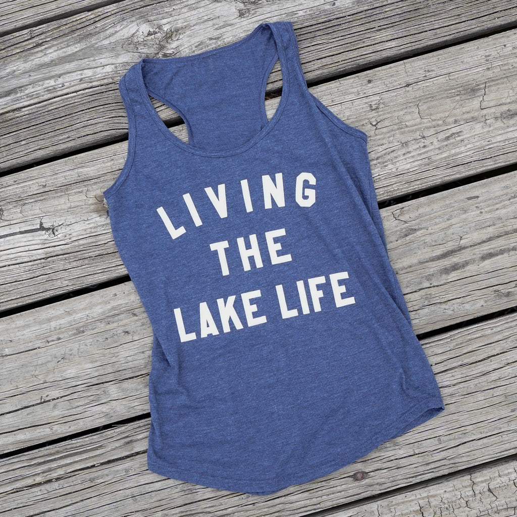 Racerback Tank Top (only XS + XL remaining) - Lake Time Supply Co.