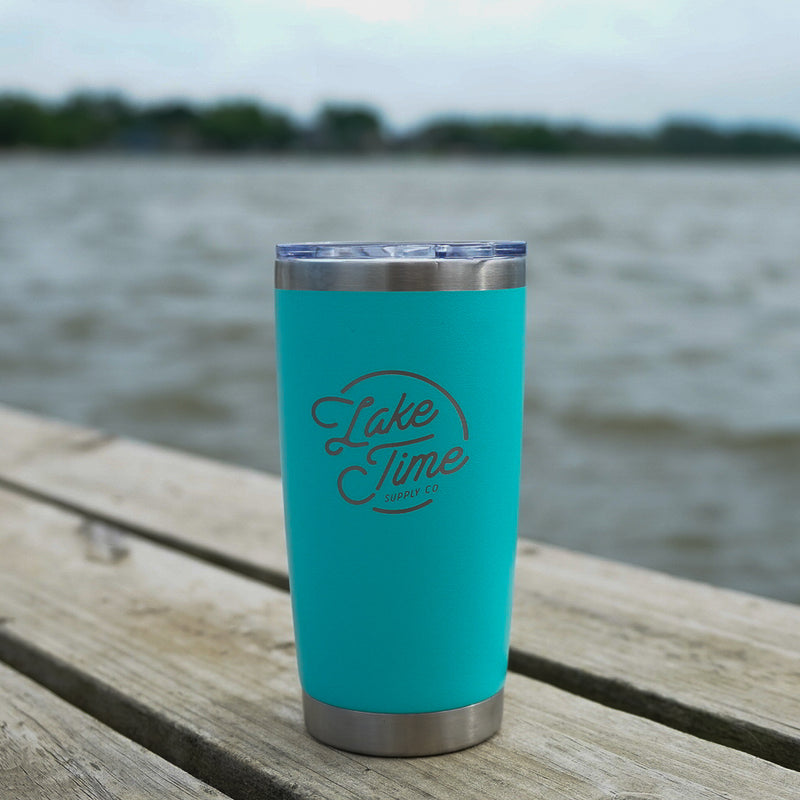20oz Lake Time Tumbler - Lake Time Supply Co.