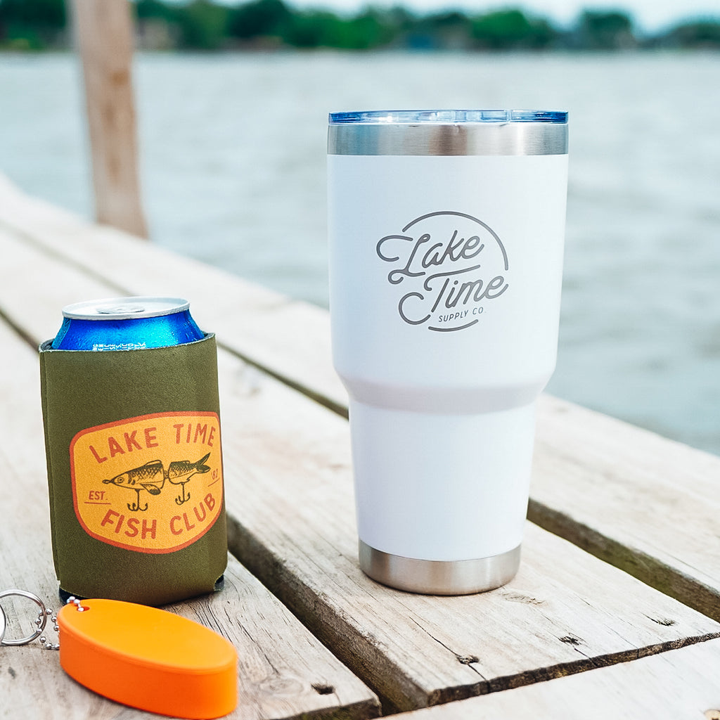 30oz Lake Time Tumbler
