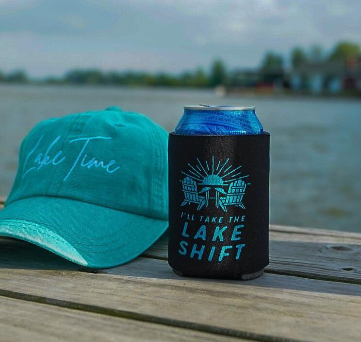 Lake Time Classic Coozies - Lake Time Supply Co.