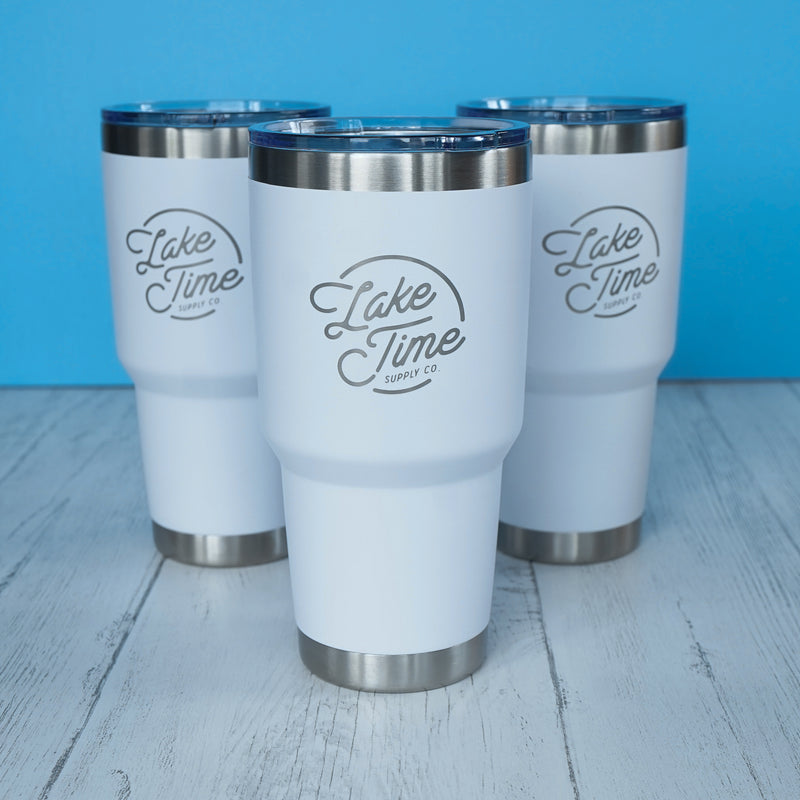 30oz Lake Time Tumbler - Lake Time Supply Co.