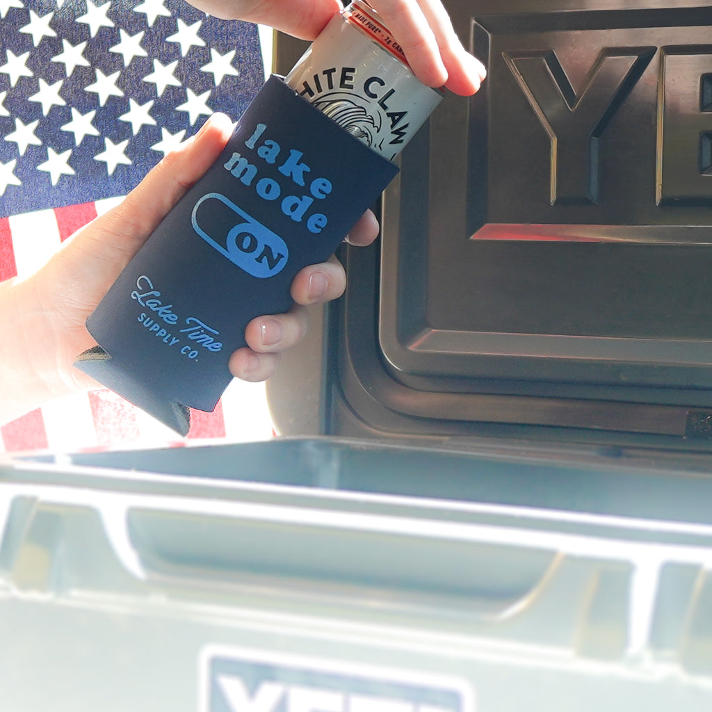 Slim/Tall Coozies - Lake Time Supply Co.